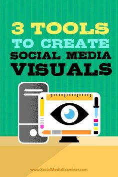 Do you create custom images for social media?  There are some new desktop design tools that make it easy to quickly create multiple graphics for social media.  In this article, youll discover three user-friendly desktop tools to create visuals for social