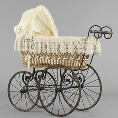 Baby stroller, swedish, early 1900s