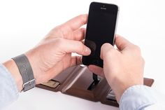 Seyvr Charging Wallet Gives Your Phone Everlasting Life -  #charger #power #wallets