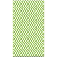 Lime Green Chevron Stripe Tissue Paper (8 sheets)