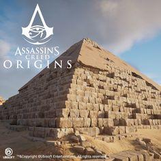 Assassin's Creed Origins    -   Pyramids 3D assets & textures, Petar Zvezdanov on ArtStation at https://www.artstation.com/artwork/59Nz1