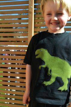 t rex dinosaur tee shirt (or any design)!