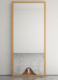 Mirror collection by Ron Gilad-The mirrors are simple rectangular wooden frames that have been injected with stories.