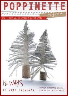 POPPINETTE Magazine - N°1 - The Jolly Winter Issue 2012