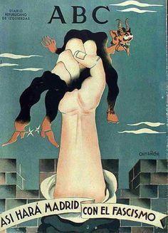 Spain - 1936. - GC - poster - ABC