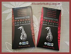 Organic Dark Chocolate: Free of gluten, dairy, soy, nuts, peanuts http://www.apassionforhealthyliving.com/2013/11/06/pascha-dark-chocolate-review/