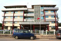 Tonga – National Reserve Bank of Tonga - Nuku'alofa Tonga, Multi Story Building, Country, Buildings, Rural Area, Country Music
