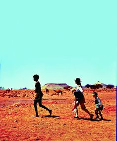 """Walkabout 1971: """"Two young children are stranded in the Australian outback and are forced to cope on their own. They meet an Aborigine on """"walkabout"""": a ritualistic separation from his tribe."""""""