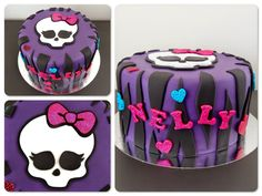 Monster High Cake - Sockersöta Ninni #monsterhigh #cake