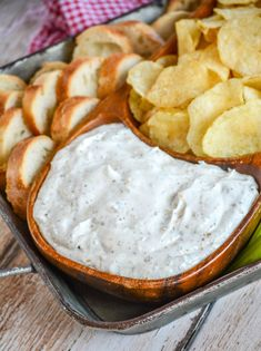 Montreal Steak Seasoning Dip - 4 Sons 'R' Us Appetizer Dips, Yummy Appetizers, Appetizer Recipes, Snack Recipes, Cooking Recipes, Party Appetizers, Best Dip Recipes, Favorite Recipes, Cold Dip Recipes