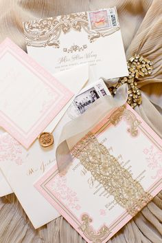 D Weddings | Alice Wang & Jason Chang Stationary by ceci new york, Thisbe Grace Photography