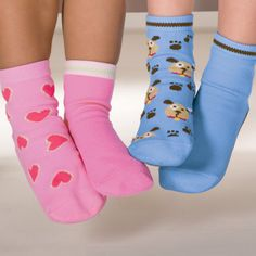 Kids Non-Skid Socks 2-Pack -     These look perfect for my toddler to use at home. We have tile floors throughout the house and the floors do get very cold. Regular slippers are constantly coming off but these sipper socks look like they would work out really well.
