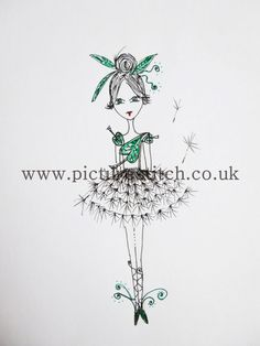 Embroidery Digital File TINK Ballerina RESERVE by NicolaElliott