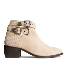 Real leather booties that are affordable? Yes, please.