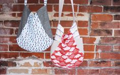 Note: This is a digital (PDF) sewing pattern.  This tote is a fabric lovers favorite! Using small cuts of fabric, you'll be able to use your favorites and still have scraps leftover. It's called the 241 because it's like 2 patterns in one! One version of the bag has two exterior side pockets (great for beginners), the other has two exterior zippered pockets (for those who might want a bit of a challenge).  Additional features:   interior pocket  magnetic snap closure  step-by-step…