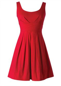 Somethin bout a girl in a red sundress...