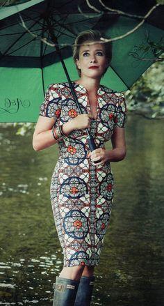 Emma Thompson dress