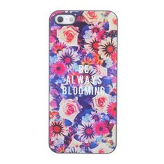 Coque iPhone 5/5S Be Always Blooming