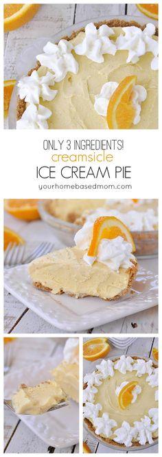 Orange Ice Cream on Pinterest | Ice Cream Recipes, Cream ...