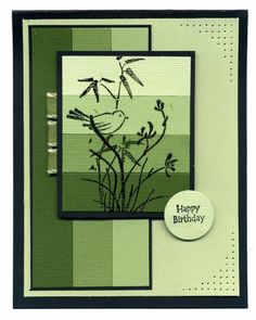 Green Artisan by wren61 - Cards and Paper Crafts at Splitcoaststampers
