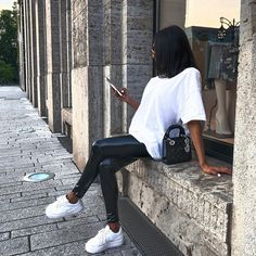 Cute Fall Outfits, Basic Outfits, Winter Fashion Outfits, Mode Outfits, Spring Outfits, Trendy Outfits, Dope Fashion, Womens Fashion, Fashion Capsule