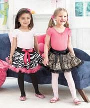 Girls Animal Print Tutu's $8/ea Sizes 2/4 & 4/6 available of each