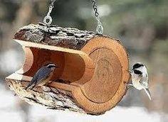 Resultado de imagen de comederos para aves material reciclado