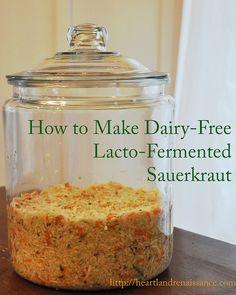 Lacto-Fermented Sauerkraut – in 10 simple steps! | heartland Renaissance