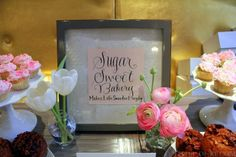 Sugar Sweet Bakery Sign