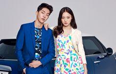 Nam Joo Hyuk Lee Sung Kyung photo