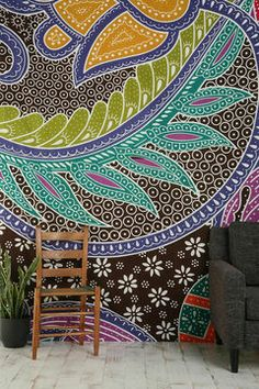 shopstyle.com: Urban Outfitters Batik Galaxy Tapestry