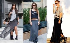 Saia Longa: Veja como criar looks incríveis com elas!
