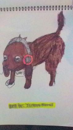 Anime doggy