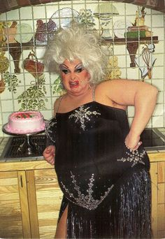 Divine..........another fucking birthday, another fucking Cake !!