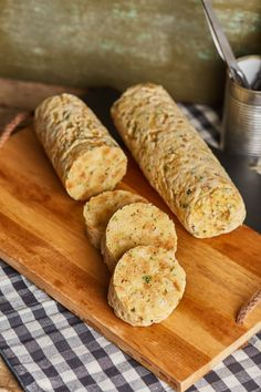 Garlic Bread, Diy Food, Bakery, Food And Drink, Cooking Recipes, Sweets, Dinner, Eat, Desserts