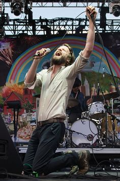 Father John Misty performs at the Sasquatch Music Festival in George, Washington on May 24th, 2013.