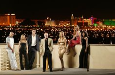 """""""Las Vegas"""" the TV show. I've been to Vegas, but I want to go to *this* Vegas, where everyone is freakin' hot and awesome things happen outta nowhere. Nikki Cox, Vanessa Marcil, Josh Duhamel, Las Vegas Tv Series, Outta Nowhere, Las Vegas Pictures, Hurtado, Casino Movie, Casino Outfit"""