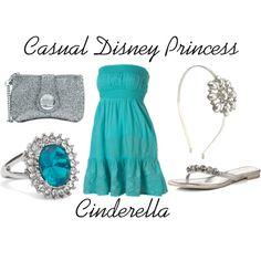 Casual Disney Princess Cinderella