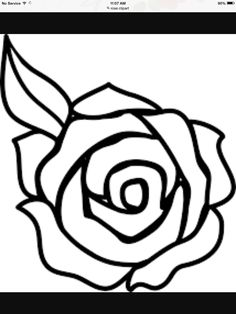 Easy rose to draw pics for rose flower sketch easy deconstructed journal pages rose coloring pages . Rose Clipart, Flower Clipart, Art Clipart, Clipart Images, Drawing Clipart, Easy Flower Drawings, Flower Sketches, Easy Drawings, Drawing Flowers