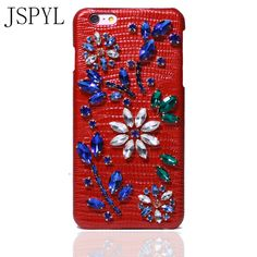 Diamond Case For iPhone 7 6 6s Plus Fundas Back Cover Luxury Phone Cases Lether Coque Case For iPhone 7 7Plus Shell Celular Capa