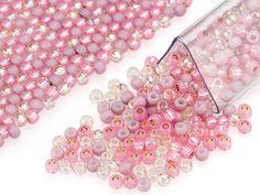 Pink Pastel 11/0 Designer Seed Bead Blend