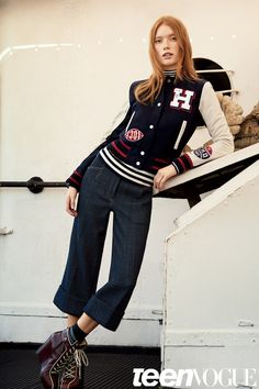 Tommy Hilfiger's collegiate collection has us SO excited for fall fashion and game day style