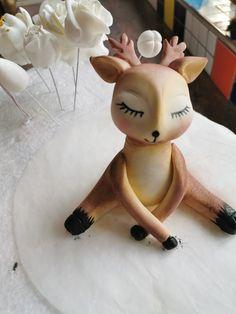 Reindeer, Snowman, Gum Paste, Disney Characters, Home Decor, Art, Art Background, Decoration Home, Room Decor