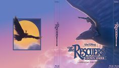 The Rescuers Down Under - Alternate Disney Blu-Ray Slipcover