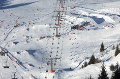 Monte #Bondone, l'Alpe di #Trento. Monte Bondone #Snowpark. Info: http://WWW.SKI.IT