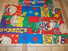 Rugrats comforter. Totally had that as a child.