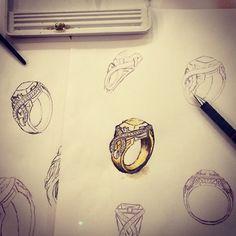 #painting #jonathanjohnsonjewelry #workinprogress