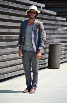 On the street at Pitti Uomo. style head sunglasses streetstyle.