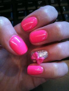pink & bows make me happy