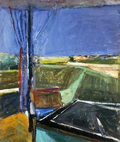 urgetocreate:  Richard Diebenkorn, Black Table, 1960